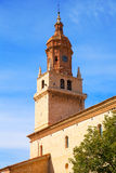Calamocha Teruel church in Aragon Spain Royalty Free Stock Images