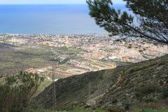 从Calamorro的Benalmadena 免版税库存图片