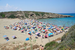Calamosche Beach, near Noto in Sicily Stock Photography