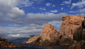 Calanches de Piana, Corse, France Stock Images