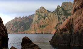 Calanches de Piana, Corse, France Stock Image