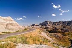 calanchi Dakota del sud immagine stock libera da diritti