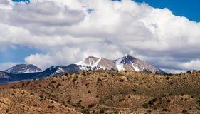 Calanchi del canyon e lanadscape dei Colorado Rockies fotografie stock