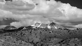 Calanchi del canyon e lanadscape dei Colorado Rockies immagini stock libere da diritti