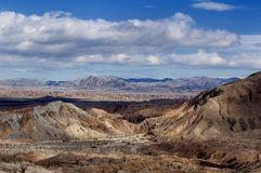 Calanchi del deserto Fotografie Stock