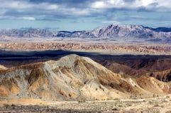 Calanchi del deserto Fotografia Stock