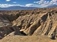 Calanchi del deserto immagini stock