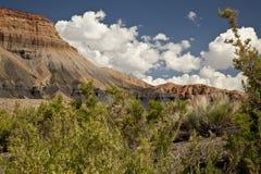 Calanchi del deserto dell'Utah fotografia stock libera da diritti