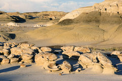 Calanchi di Bisti, New Mexico, U.S.A. Immagine Stock Libera da Diritti