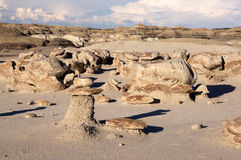 Calanchi di Bisti, New Mexico, U.S.A. Immagine Stock