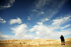 Calanchi il Dakota del Sud Fotografia Stock