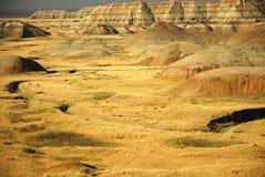 Calanchi il Dakota del Sud Immagini Stock Libere da Diritti