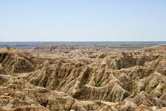 Calanchi il Dakota del Sud Fotografie Stock
