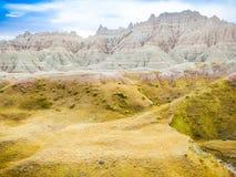Calanchi parco nazionale, Sud Dakota, Stati Uniti Fotografie Stock