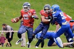 Calanda Broncos. Swiss American Football 2016 - Team Calanda Broncos Royalty Free Stock Photo