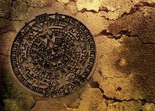 calander майяское Стоковое Изображение