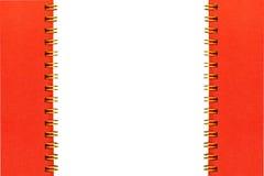 Calander спирального кольца золота связанное Стоковое Изображение
