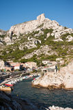 calanque callelongue 库存图片