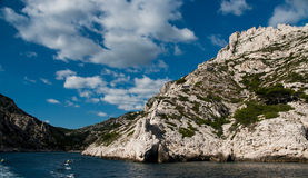 Calanque in Cassis Stockbilder