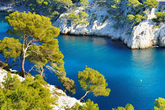 Calanque  of Cassis Royalty Free Stock Photos