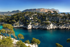 Calanque  of Cassis Royalty Free Stock Images