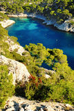 Calanque  of Cassis Stock Image