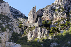 Calanque Cassis Obrazy Royalty Free