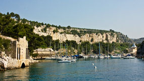 A Calanque in Cassis Royalty Free Stock Photos