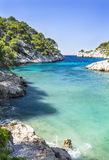 calanque  of Cassis Stock Photos