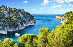 Calanque  of Cassis Royalty Free Stock Photography