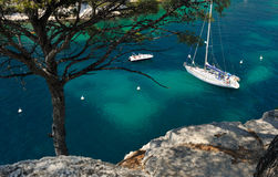 Calanque of Cassis in France Royalty Free Stock Images