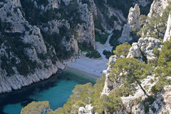 Calanque d'en vau Royalty Free Stock Images
