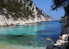 Calanque d'en Vau, France Royalty Free Stock Images