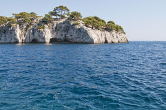 Calanque de Cassis Royalty Free Stock Photos