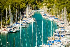 Free Calanque De Port Miou - Fjord Near Cassis Village, Provence, France Stock Photography - 118073552