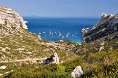 Calanque de Somiou Royalty Free Stock Photography