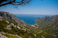 Calanque de Sormiou Royalty Free Stock Photography