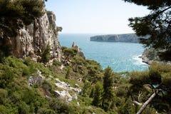 Calanque de Sugiton en Marsella Fotos de archivo libres de regalías