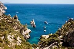 Calanque de Sugiton. In Marseille Royalty Free Stock Photography