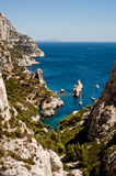 Calanque de Sugiton Royalty Free Stock Photo