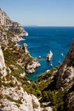 Calanque de Sugiton. In Marseille Royalty Free Stock Photo