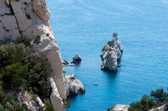 Calanque in Marseille Stock Afbeeldingen