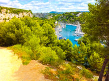 Calanque between Marseille and Cassis, Provence, France Stock Image