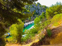 Calanque between Marseille and Cassis, Provence, France Royalty Free Stock Images