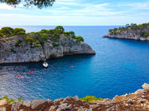 Calanque between Marseille and Cassis, Provence, France Royalty Free Stock Photos