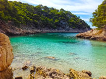 Calanque between Marseille and Cassis, Provence, France Stock Photography