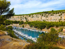 Calanque between Marseille and Cassis, Provence, France Stock Photo