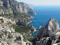 Calanque National Park in France. Stock Photo