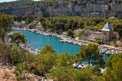 Calanque of Port-Miou Royalty Free Stock Photos