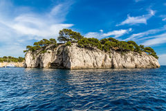 Calanque - Sheltered Inlet Near Cassis, France Stock Photography